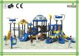 Plastikim freienspielplatz der Kaiqi Qualitäts-LLDPE des im Freienspielplatz-Geräts der Weltraum-Traumland-Serien-Kq60046A/Dreamland