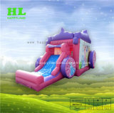 Bouncy Castle Inflatable Jumping王女の警備員のおもちゃ