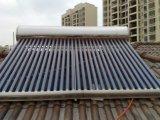 2016 no Presión de lazo abierto del tubo evacuado del calentador de agua solar