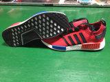 Большая тапка красного цвета реальная Boots ботинки бегунка Nmd ботинок популярные