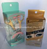 Cosmética personalizada PVC transparente de plástico de PVC de caja de embalaje