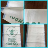 Hot Sale PP tissés sac sacs d'emballage de carbone noir fusain 20kg 10kg 5 kg sac d'emballage