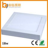 18W Wholesalers 3 Years Warranty Quadrado Ce RoHS Aprovado Surface Mount Panel Light LED