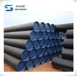Tubulação soldada ERW de aço API 5L/ASTM A53 GR do preto da tubulação da tubulação de carbono. Tubulação de B para a tubulação de petróleo/tubulação de gás/tubulação de água