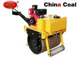 Одиночной ролик дороги Compactor гидровлической конструкции барабанчика малой направленный рукой