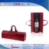 De nieuwe Carrier van de Wijn van het Leer van het Ontwerp Snakskin Gevormde Pu (6135R12)
