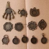 برونزيّة [ديي] عقد جوهرة قاعدة مجوهرات صواني مدلّاة شريكات إدماج