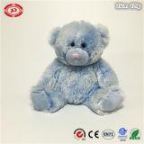 Brinquedo enchido da peluche do luxuoso do urso forma macia macia extravagante azul