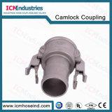 Koppeling Camlock van het Type C van roestvrij staal de Zelfsluitende