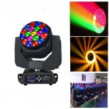 LED 19pcsx15W Big Bee Eye Moving Head Light con Zoom