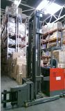 1500kg Load Capacity를 가진 아주 Narrow Aisle 3방향 Pallet Stacker
