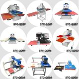 SGS CE Manual Clam Flat Fabric Heat Press Machine