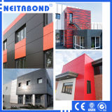 A2/B1 Grade Composite Fireproof Aluminum Panel for ACP Wall Cladding