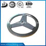Gris/rueda volante del bastidor de arena del arrabio con servicio modificado para requisitos particulares