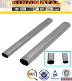 ASTM A554 TP304 Oval de aço inoxidável para mobiliário de tubos de aço
