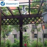 indicatore luminoso di via esterno alimentato solare del giardino 6W