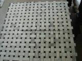 Het witte Mozaïek van het Marmer/van het Graniet voor het Mozaïek van de Tegel van de Muur/van de Keuken/van de Vloer/van de Badkamers
