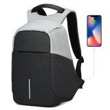 Carregamento USB inteligente de segurança de viagem Computador Laptop Saco mochila para estudantes