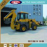 Caricatore brandnew ATTIVO dell'escavatore a cucchiaia rovescia di tonnellata WZ30-25 del modello 2.5 da vendere