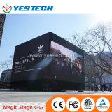 Visualizzazione di LED di pubblicità esterna dell'Europa del cubo di Adidas Nmd