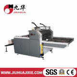 Hohe Quanlity halb automatische hydraulische Papierrolle/leimen/Glueless Bopplamination Maschine vor