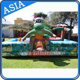 Aire de jeux pour dinosaures gonflables en plein air pour tout-petit