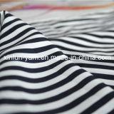 Impreso personalizado gasa del poliester tela de vestido de las mujeres