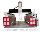 3D Houten Vorm maakte CNC van 5 As Machine