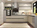 De Moderne Houten Keukenkast van uitstekende kwaliteit