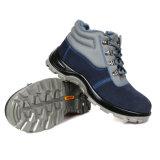Puntera de cuero auténtico bosque Zapatos de seguridad EN345