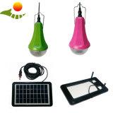 Dimmableライトが付いている携帯用小型太陽ホームライト