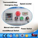 certificado CE neumático automático de estaciones de doble sublimación prensa de calor de la máquina para camiseta