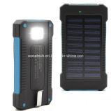 Chargeur de côté d'énergie solaire de la coutume 20000mAh