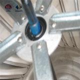 Roestvrij staal 304 het Ventilator van de Turbine