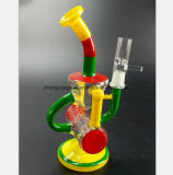 De Waterpijp van het Glas van de kleur voor de Gelijke Pijp van de Filter van de Terugwinning van het Kanon