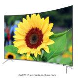 """Стекло 10 65 дюймов самое новое франтовское верхнее двойное 65 """" 4K СИД TV 65inch TV изогнутый 4K"""