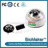 La velocidad de centrifugación 3000-12000múltiples Mini r/min microtubos de 100V-240V