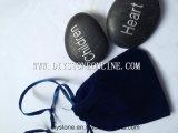 Colore nero di pietra inciso casella intagliato 20mm-40mm