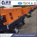 Подводное плавание с приводом на четыре дизельных портативный воздушный компрессор (HF550-13C)