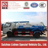 下水のタンク車の真空DFACの下水のSucktionのトラックのDongfeng DFACの糞便のトラック
