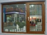 Conch 60 PVC/UPVC 천연색 필름을%s 가진 최고 걸린 여닫이 창 Windows는 입혔다