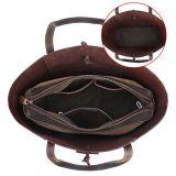 Borsa su ordinazione di cuoio delle donne dei sacchetti di spalla delle donne di modo della signora Handbag 2018 della borsa dell'unità di elaborazione della borsa delle signore (WDL0500)