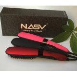 cepillo de la enderezadora del pelo de 2016new Arrice Nasv con la capa de cerámica