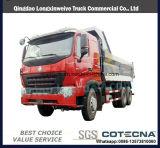 HOWO A7 6X4 팁 주는 사람 380HP 덤프 트럭