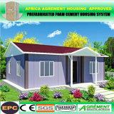 Casa minúscula Prefab pré-fabricada clara das HOME modulares de frame de aço