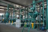 Gummireifen-Abfallverwertungsanlagen-vollständiger Schrott-automatischer Reifen, der Zeile aufbereitet