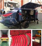 販売のための川崎の油ポンプを搭載する20 25 30m3/H小さいトレーラーの具体的なポンプ