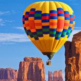 Aerostato caldo gonfiabile Colourful per fare pubblicità