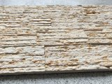 New Yellow Marble Culture Brick Stacked Stone for Wall