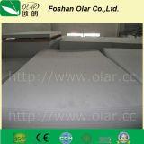 Plafond renforcé de chaleur et de silicate de calcium renforcé par des fibres